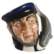 "1958 Large Royal Doulton Figural ""Capt Ahab"" Toby Mug Limited Edition"