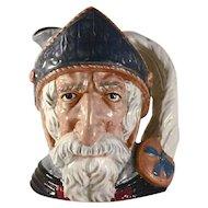 """1956 Large Royal Doulton Toby Character Mug """"Don Quixote"""" D6455"""