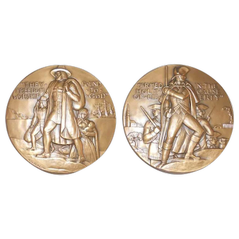 1961 Large Bronze Medal Society of Medalists 63rd Issue Adolf Block Sculptor