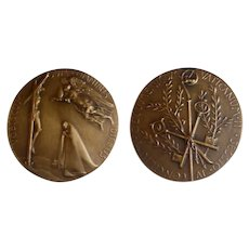 1965 Bronze Medal 4th & Final Session of the Ecumenical Council Pope Paul VI Unc.
