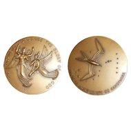 November 1963 Bronze Medal Society Medalists Angels & Frigate Bird J. A. Coletti