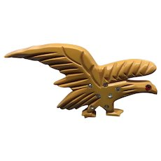 Bakelite Eagle Pin