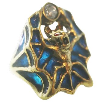 Classic French Art nouveau design ring