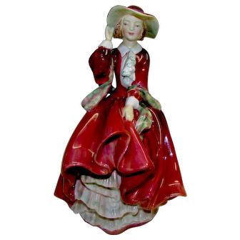 "Vintage Royal Doulton Figurine ""Top O' The Hill"" HN 1834"