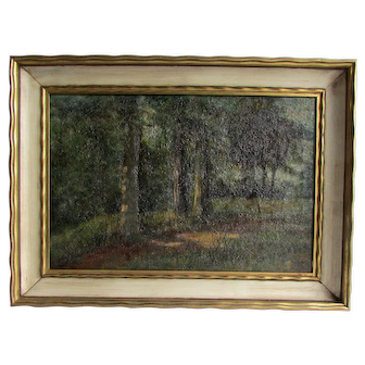 Christian J. Walter (American, 1872 - 1938) Landscape Painting.