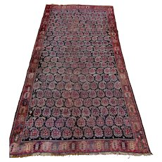 Antique Persian Shiraz Carpet - Tribal Rug