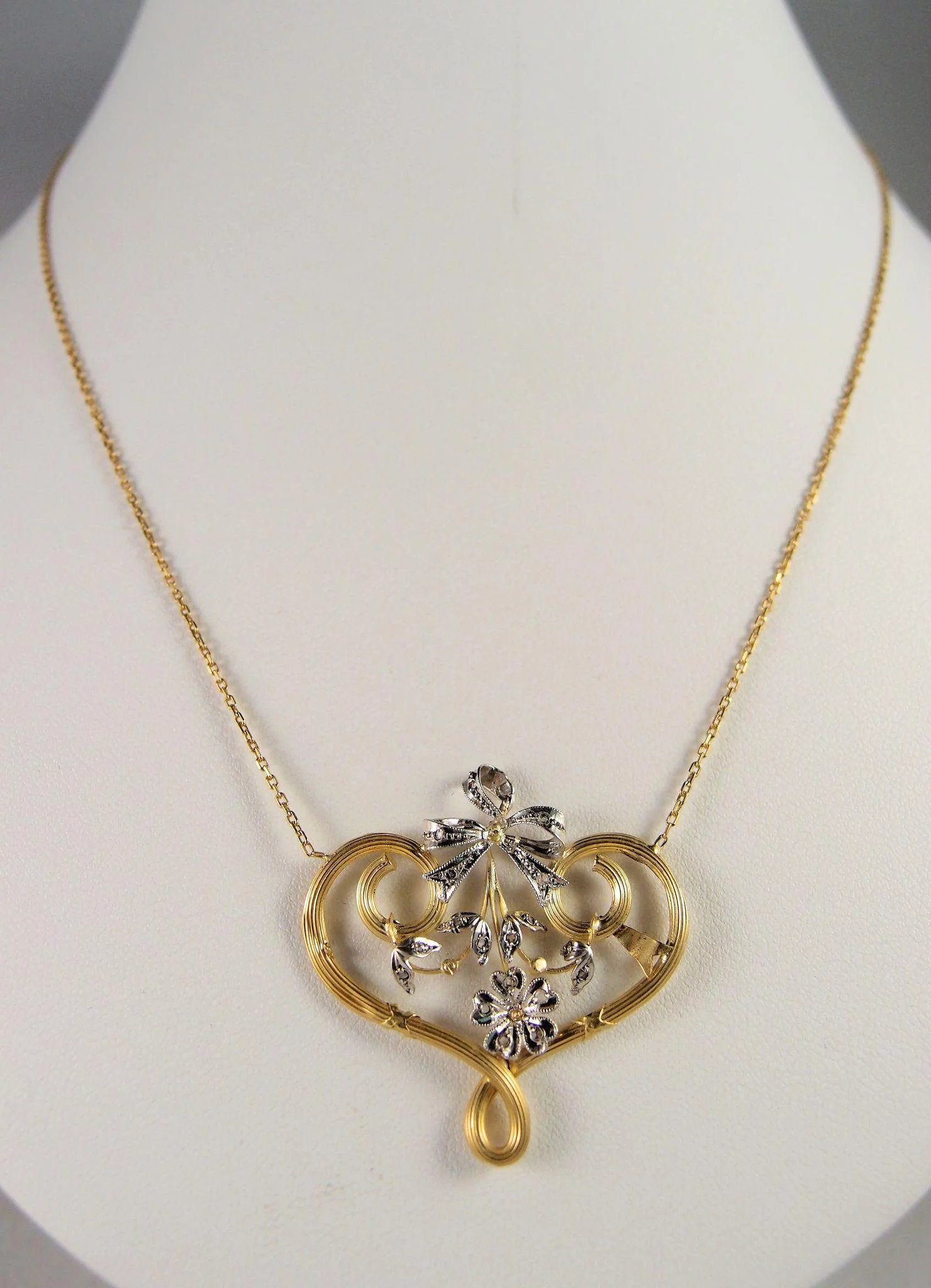 mouse heart mickey image shopdisney necklace platinum