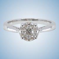 Exquisite Korloff style diamond ring Stamped 18K solid gold and unique diamond cut Hallmarked