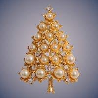 Book Piece, Graziano Christmas Tree Pin