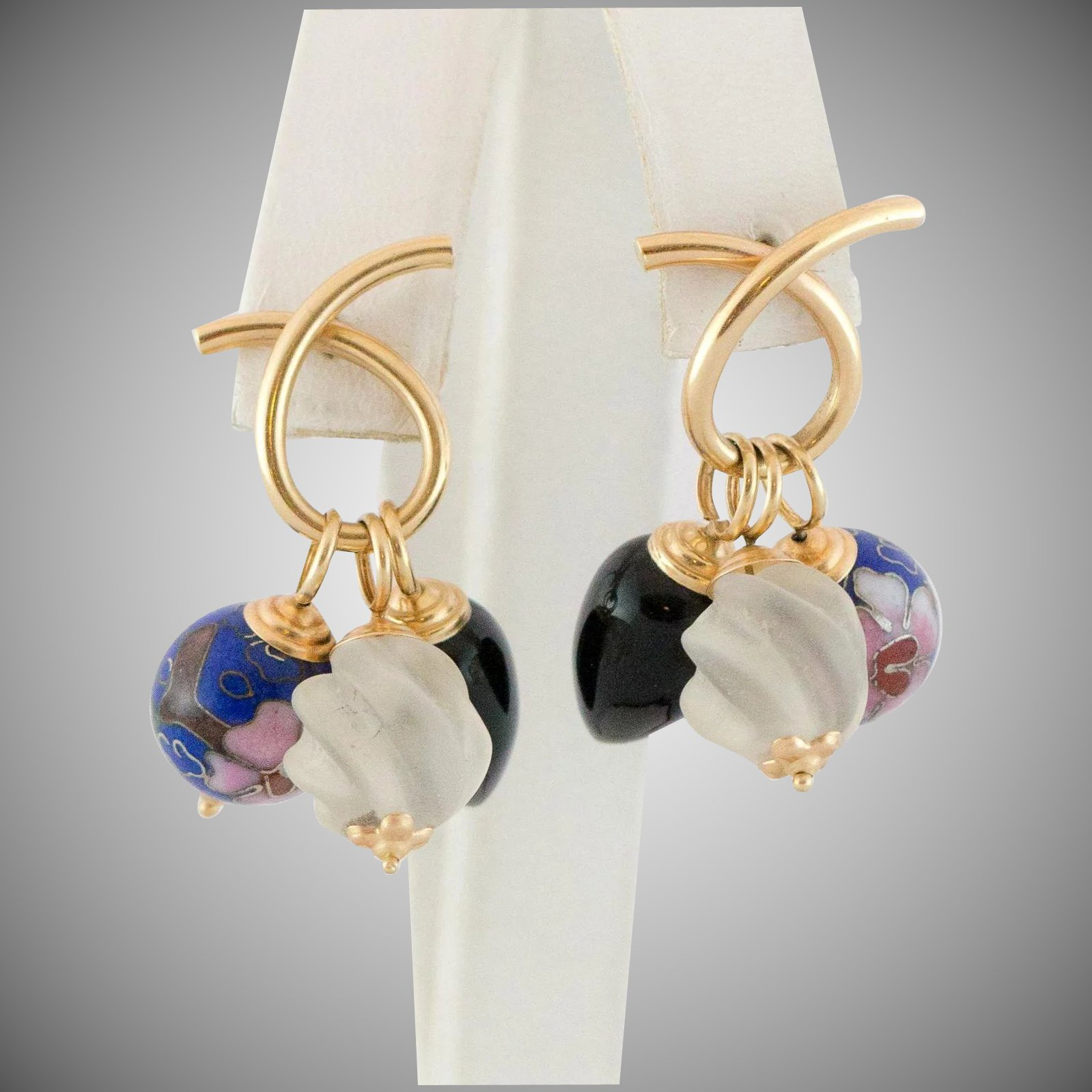 multi interchangeable stone earrings in with silver sterling diamonds jewelry