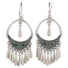 FINAL MARKDOWN!  Sterling Silver Dangle  Earrings