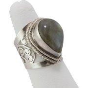 Sterling Silver | Labradorite Ring