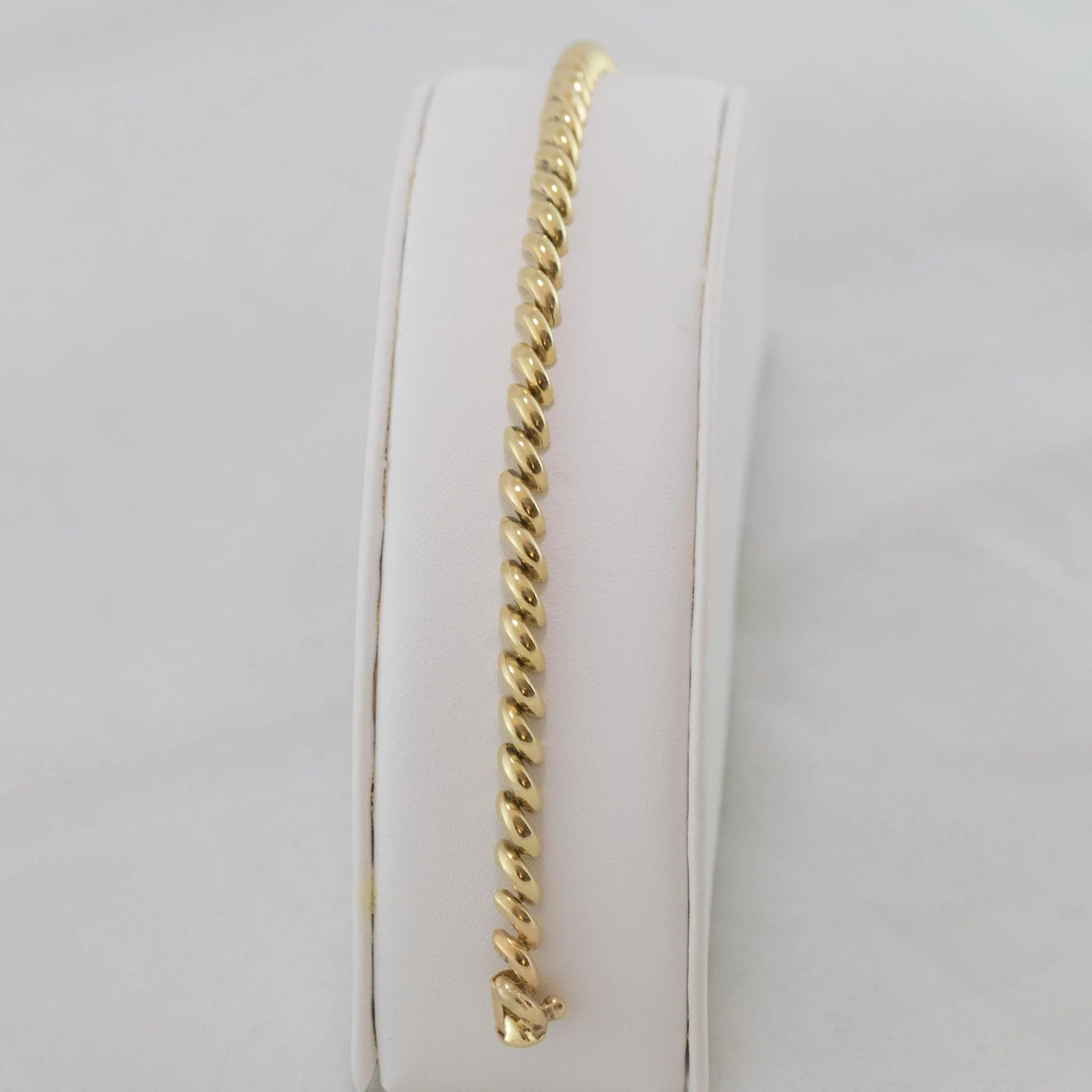 14K Yellow Gold | San Marco Bracelet 7-1/4 Inches : Ann-tiques and ...