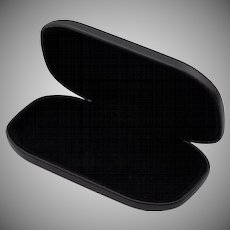 Very Nice! Vintage Black Spectacles Case