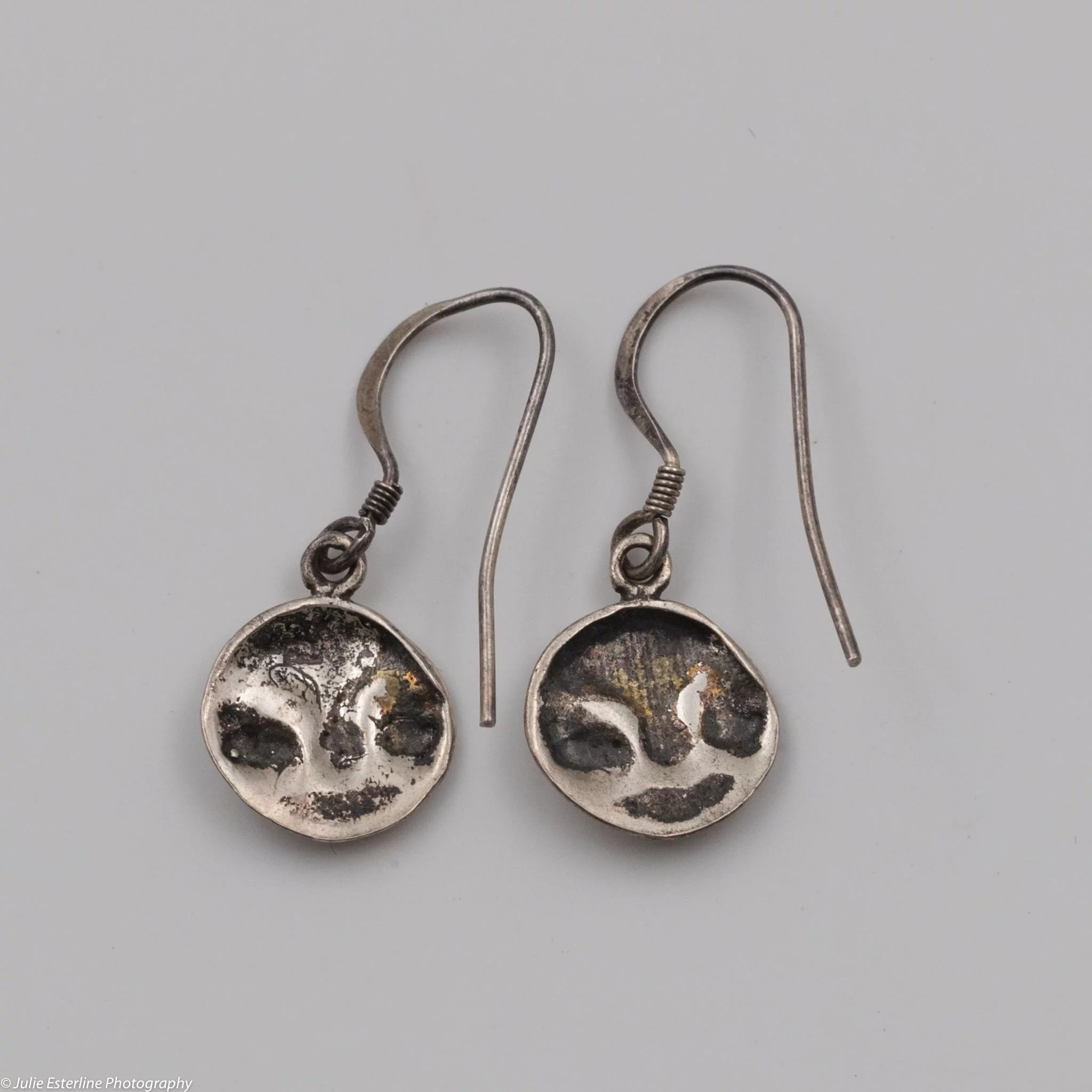 dangle p earrings moon half