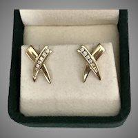 14K 585 YG | Diamond Earrings 0.42 CTW