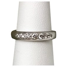 Gorgeous! Scott Kay Platinum Diamond Band Size 5.25
