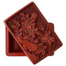 Nice! Cinnabar Trinket Box