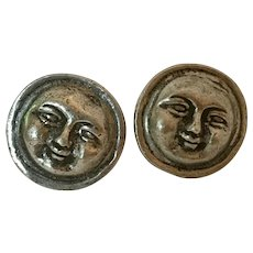 WHIMSICAL! Vintage Man in The Moon  Drawer Pulls