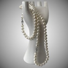 2-Piece Cultured Freshwater Pearl Bracelet and Necklace