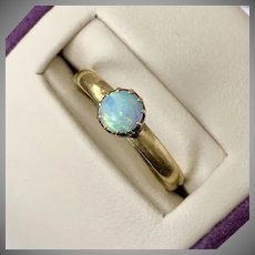 Antique Opal Ring 22CT  Size 7