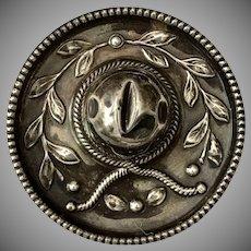 Sterling Silver Sombrero Hat Brooch
