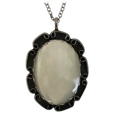 Mother of Pearl, Pendant, Sterling Silver