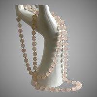 Rose Quartz, 8MM Beads, 30-Inch Strand