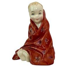 Vintage Royal Doulton Porcelain Figurine Nursery Rhymes Series, This Little Pig