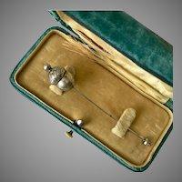 Antique Victorian Acorn Stickpin