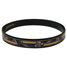 Vintage Michaela Frey Enamel Bracelet
