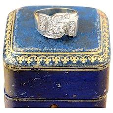 Retro Diamond Fashion Ring, 14k