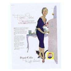 1955 Ad - PEPSI-Cola - 'Figures Show...'