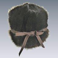 Vintage Mink fur betmar ribbon hat