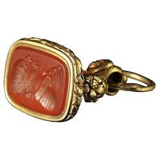 Antique Georgian Gold Shakespeare Seal Fob