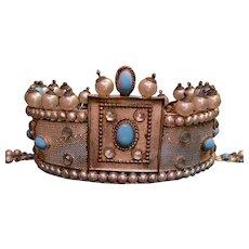 Antique French Byzantine Empress Crown