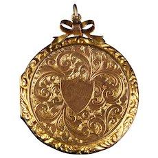 Antique Victorian 9ct Gold Locket Circa 1900