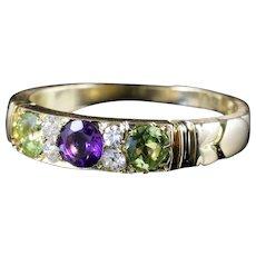 Suffragette Ring Antique Victorian 18ct Gold Circa 1900
