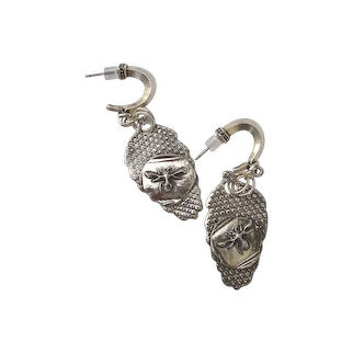 CUSTOM ORDER Bees and Honey Handcrafted Fine Silver Earrings