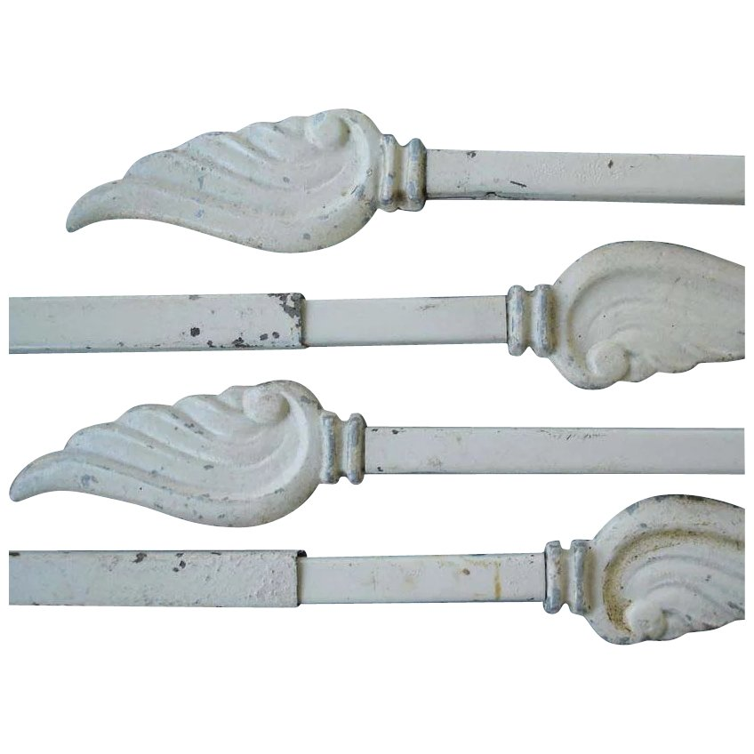 Vintage Swing Arm Curtain Rods With