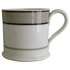 Antique Mocha Mochaware Mug