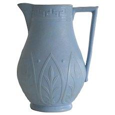 Antique Cobridge Salt Glaze Jug with Aesthetic Decoration