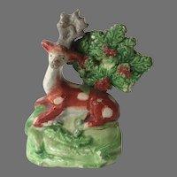 Early Staffordshire Deer Figure