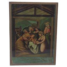 The Nativity by W.B. Walker 1802 of London