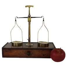 Georgian Miniature Scale for Doctor or Jeweler