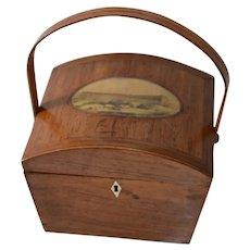Georgian Sewing Box with Bath Royal Crescent Image