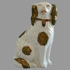 Antique Miniature King Charles Spaniel from Staffordshire
