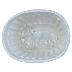 Antique Jumbo the Elephant Food Jelly Mold