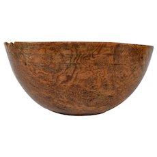 Antique American Burl Bowl