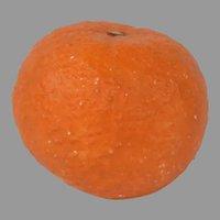 Antique Italian Stone Fruit Orange